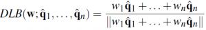 DLB Equation