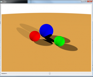 Diffuse Shading with Spheres