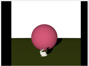 Diffuse Shading with an OBJ file, and 2 spheres